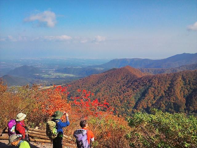 鳥取、大山の紅葉